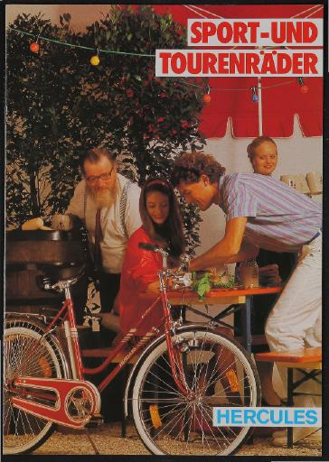 Hercules Sport- und Tourenräder Katalog 1982