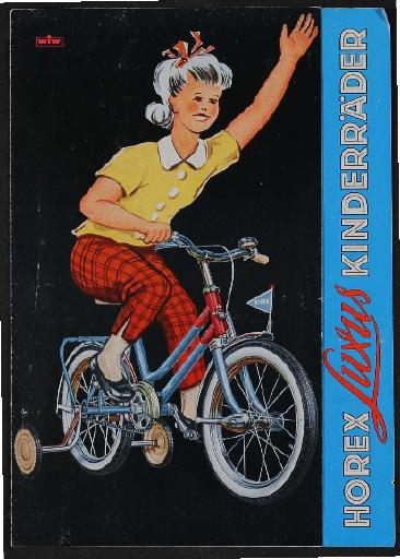Horex Kinderräder Prospekt 1960er Jahre