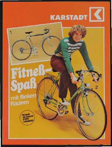 Karstadt Fahrräder Faltblatt 1977