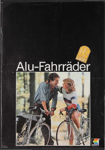 Kettler Alu-Fahrräder Prospekt 1981
