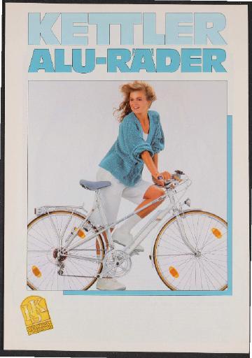 Kettler Alu-Räder Prospekt 1987