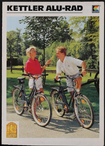 Kettler Alu-Rad Katalog 1988