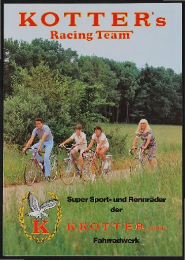 Kotters Racing Team Faltblatt 1981