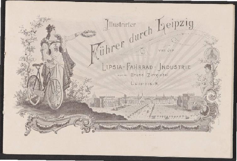 Lipsia-Fahrrad-Industrie, Führer durch Leipzig, Katalog, 1898
