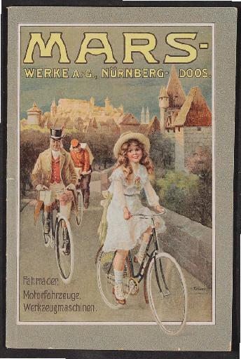 Mars Fahrräder Katalog 1910