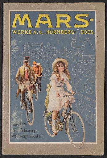 Mars Fahrräder Katalog 1911