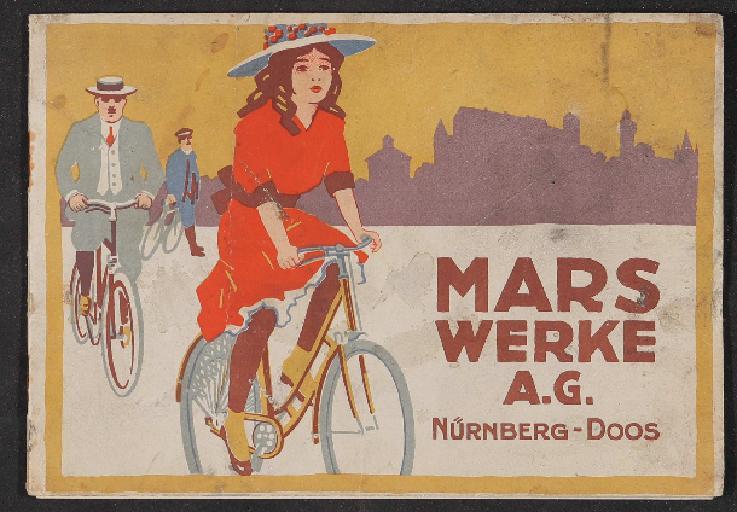 Mars Fahrräder Katalog 1914