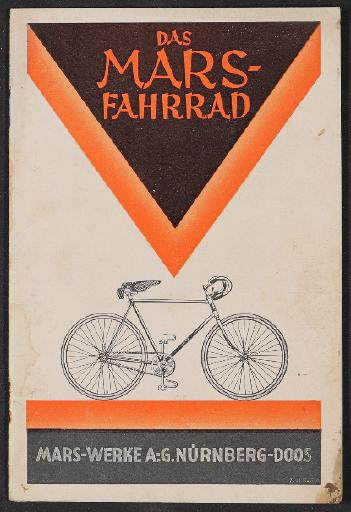 Mars Fahrräder Katalog 1927