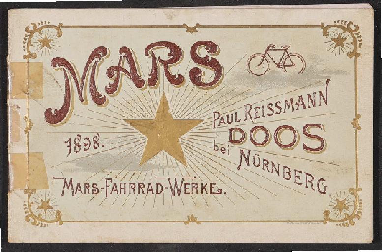 Mars Fahrrad Werke Katalog 1898