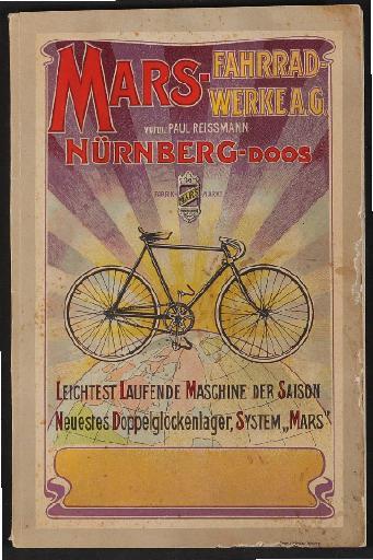 Mars-Fahrradwerke AG, Katalog 1902