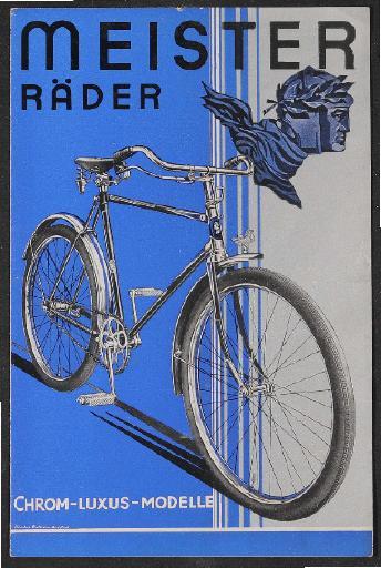 Meister Fahrradwerke Prospekt 1930er Jahre