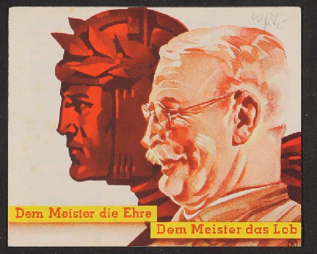 Meister, Prospekt 1935