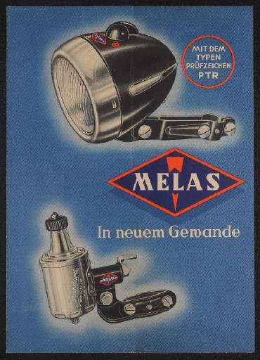 MELAS Im neuen Gewande Faltblatt 30er Jahre