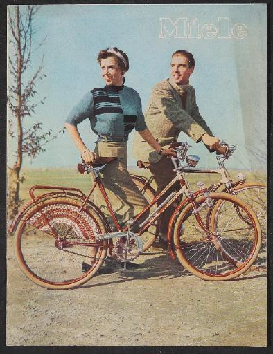 Miele Fahrräder Motorfahrräder Katalog 1953