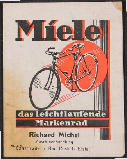 Miele Faltblatt 1929