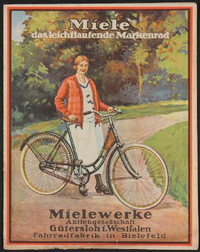 Miele Markenrad Katalog 1933