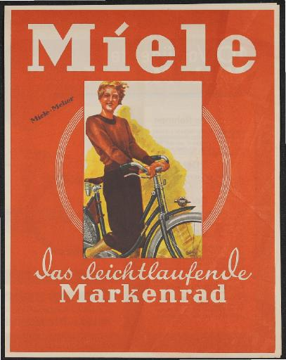 Miele Markenrad Prospekt 1933