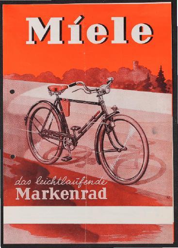 Miele Markenrad Prospekt 1949