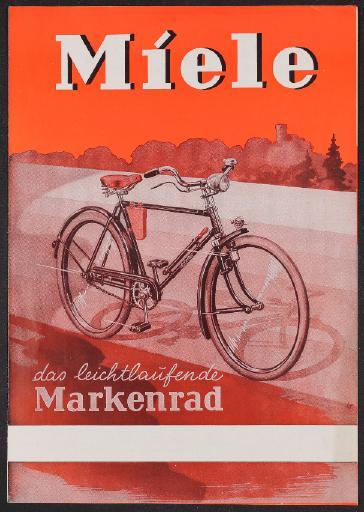Miele Markenrad Prospekt 1950