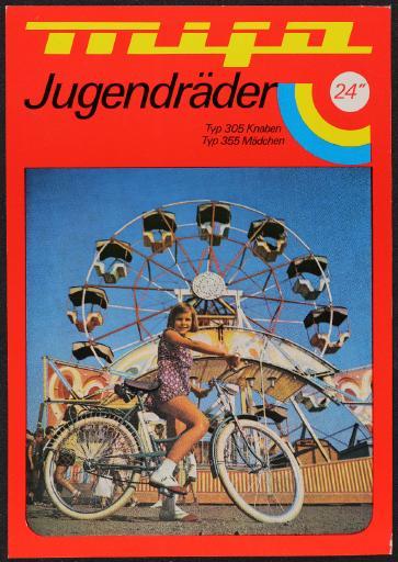 Mifa Jugendräder Werbeblatt 60er Jahre