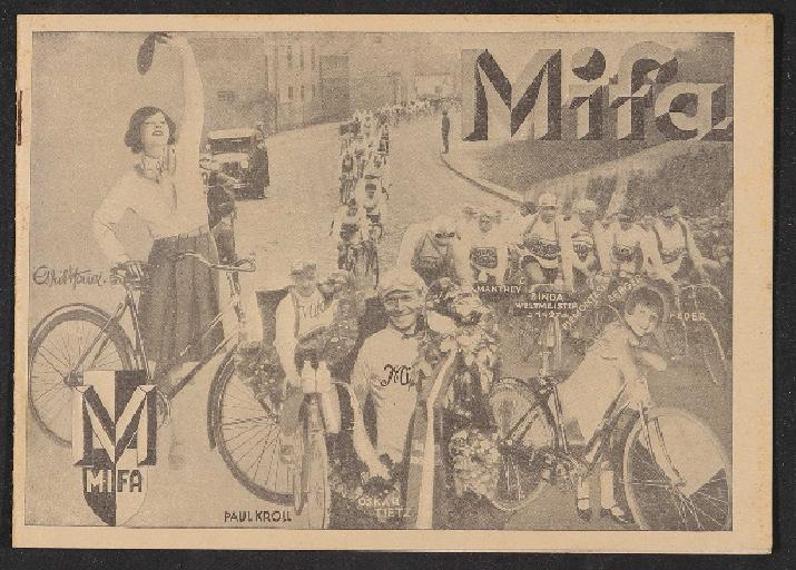 Mifa Katalog 1930er Jahre
