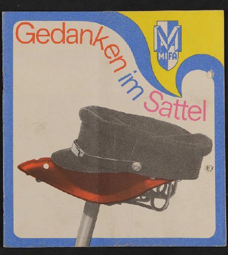 Mifa Katalog Gedanken im Sattel, 1969