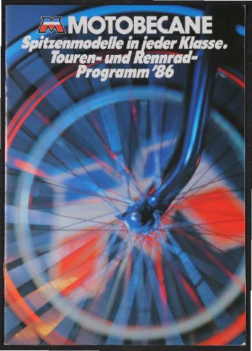 Motobecane Katalog 1986