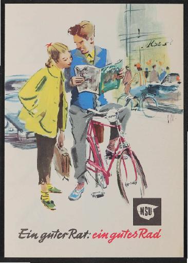 NSU  Prospekt um 1960