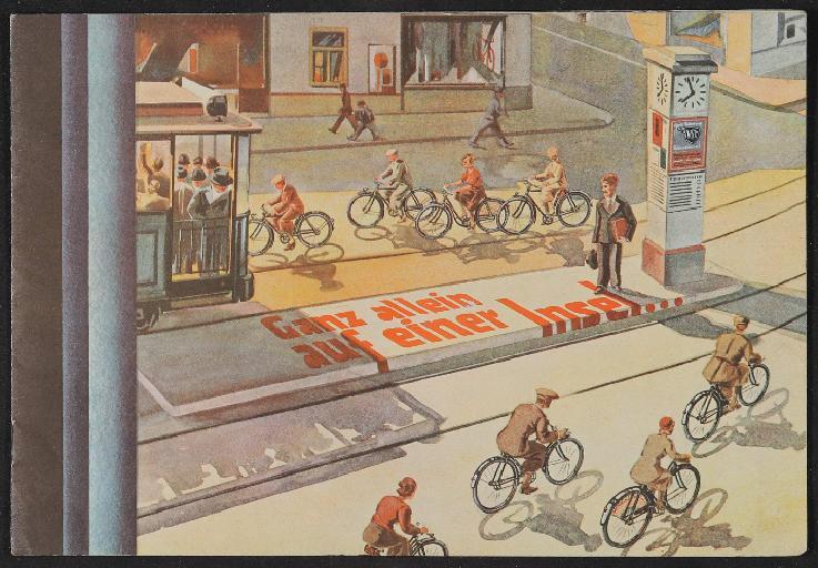 NSU Fahrräder Katalog 1930er Jahre
