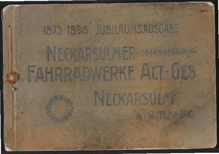 NSU Katalog  1898