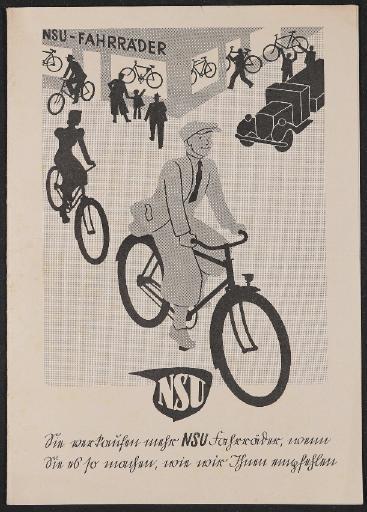 NSU Werbemappe für Händler 1939
