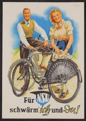 NSU, Faltblatt 1930er Jahre (2)