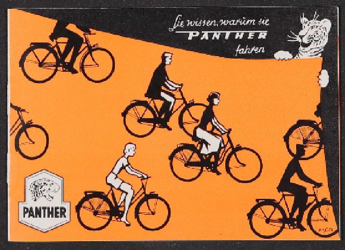 Panther Fahrräder Katalog 1950er Jahre
