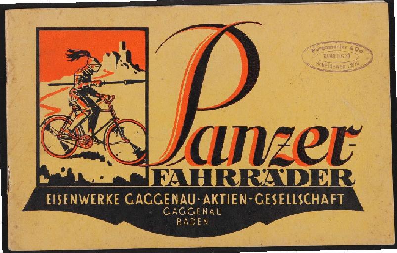 Panzer Fahrräder Katalog, 1923-26