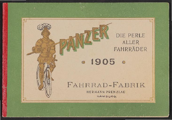 Panzer Fahrrad-Fabrik Katalog 1905