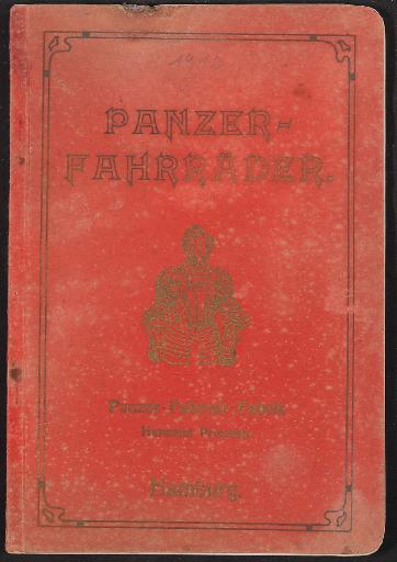 Panzer-Räder, Katalog 1910