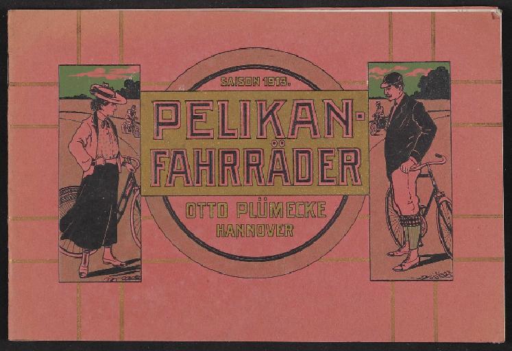 Pelikan-Fahrräder, Katalog, 1913