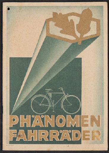 Phänomen Fahrräder Katalog 1934