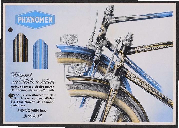 Phänomen Faltblatt 1954