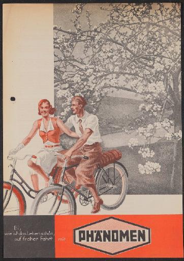 Phänomen Werbeblatt 1934