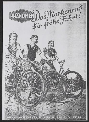 Phänomen Werbeblatt Kopie 1938