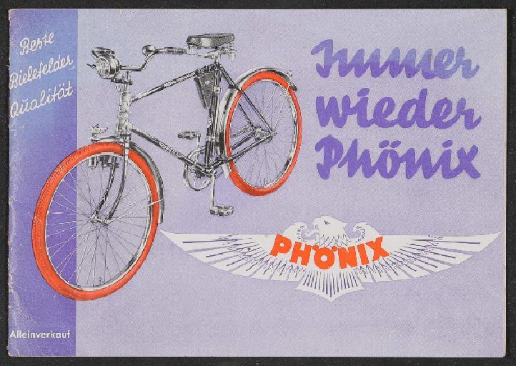 Phönix Fahrräder Katalog 1930er Jahre