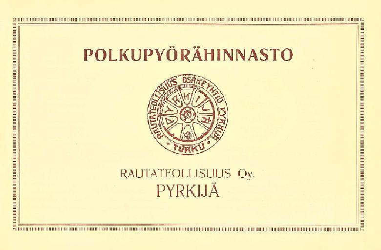 Pyrkijä Prospekt 1925