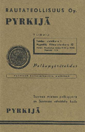 Pyrkijä Prospekt 1938