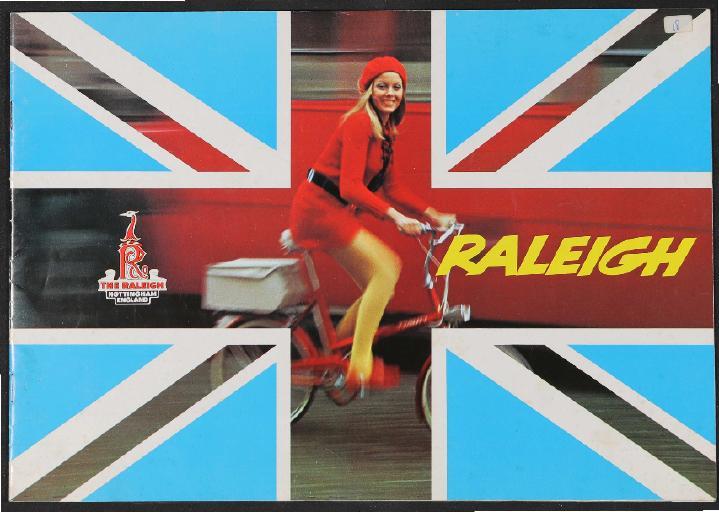 Raleigh, TI Raleigh Ltd Katalog 1977