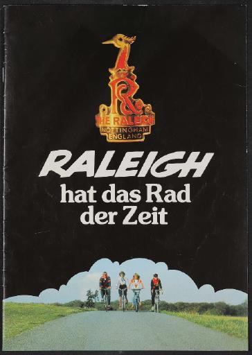 Raleigh, TI Raleigh Ltd Katalog 1986