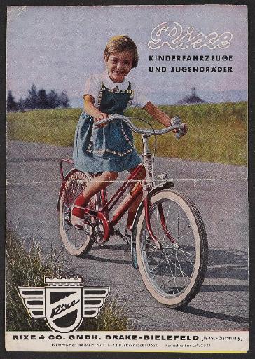 Rixe Kinderfahrzeuge und Jugendräder 1970er Jahre