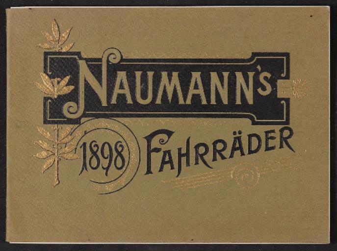 Naumann Fahrräder Katalog 1898