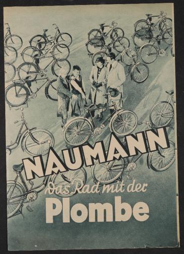 Naumann Prospekt 1930er Jahre