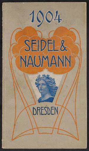 Seidel u. Naumann Katalog 1904